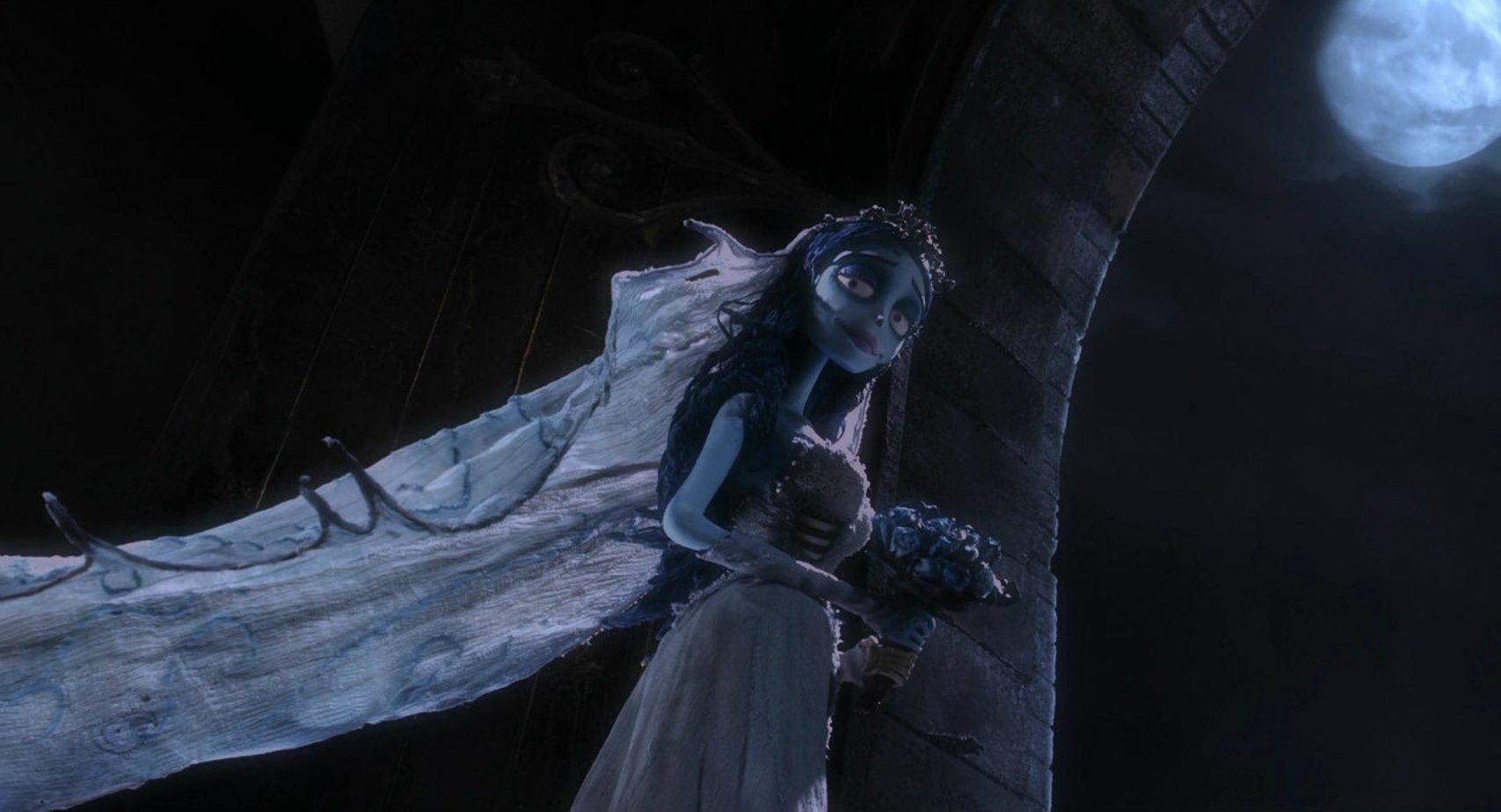 гифки призрак невесты открывается прекрасный вид