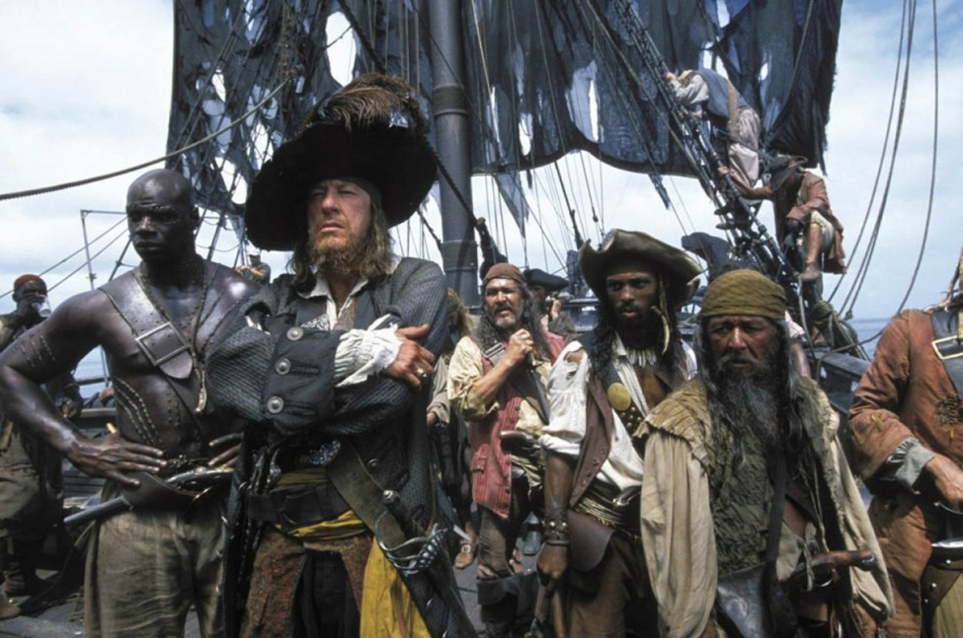 a review of the movie pirates of the caribbean On june 28, 2003, walt disney pictures and jerry bruckheimer films brought the original pirates of the caribbean movie to audiences nationwide director gore verbinski's adaptation of the disneyland ride opened to $135 million, marking the best wednesday opening of the year.