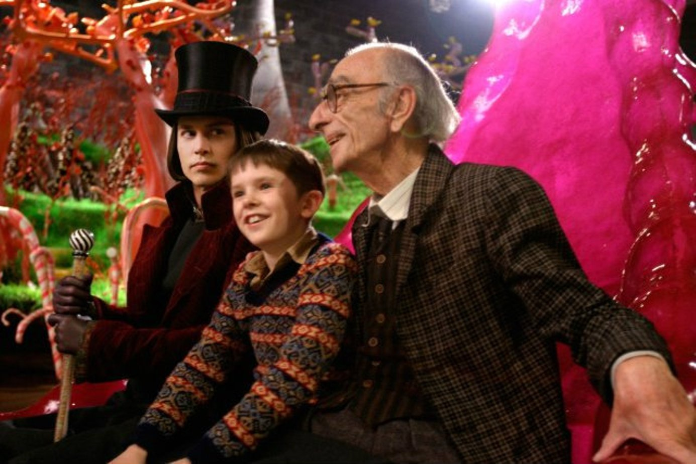 an analysis of charlie and the chocolate factory and alice in wonderland two movies by tim burton In a surprise appearance at comic-con in july, during tim burton's presentation of his upcoming alice in wonderland adaptation, star johnny depp made a surprise appearance onstage the crowd.