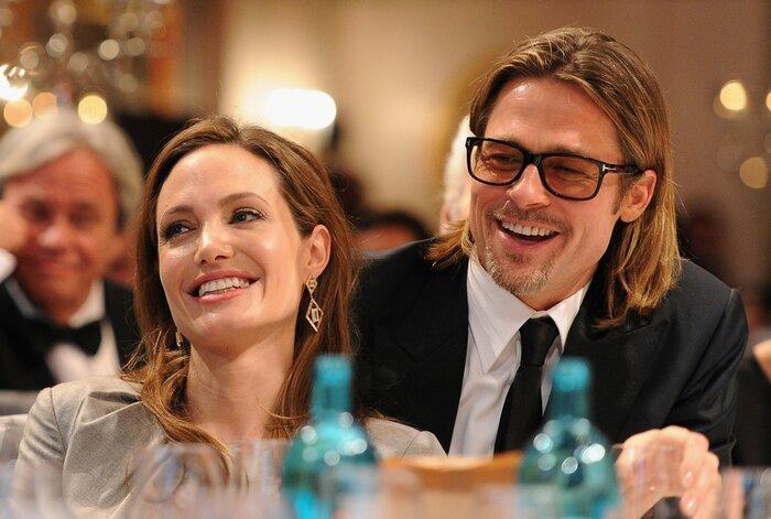 Брэд Питт и Анджелина Джоли попросили Джейми Оливера приготовить для них ужин