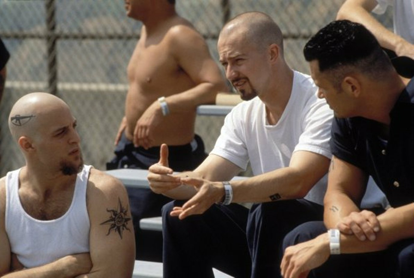 a review of the film american history x American history x movie review american history x is a powerful movie about racism in today's society it follows the life of a troubled teenager danny vinyard played by edward furlong, who looks up to his neo-nazi brother derek.
