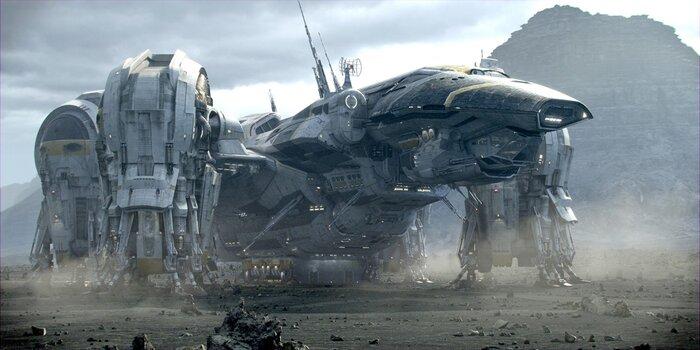 картинки из фильма прометей
