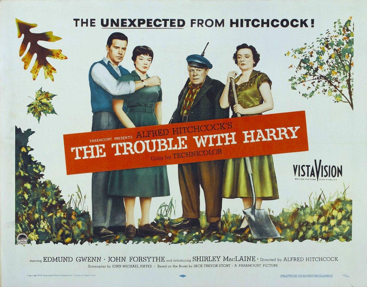 Кадры из фильма «Неприятности С Гарри» / 1954