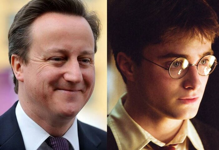 Премьер-министр Великобритании хотел бы быть Гарри Поттером