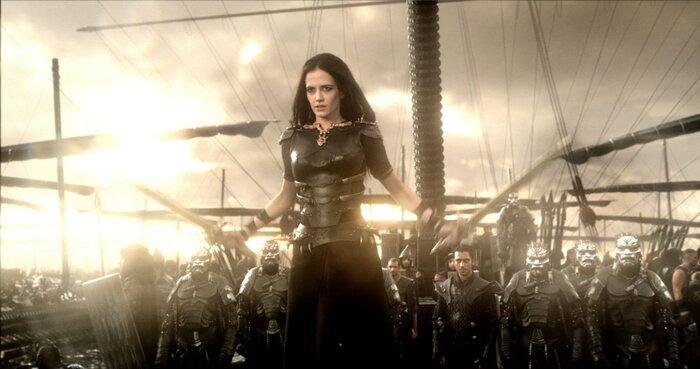 Анимированный постер к фильму «300 спартанцев: Расцвет империи»