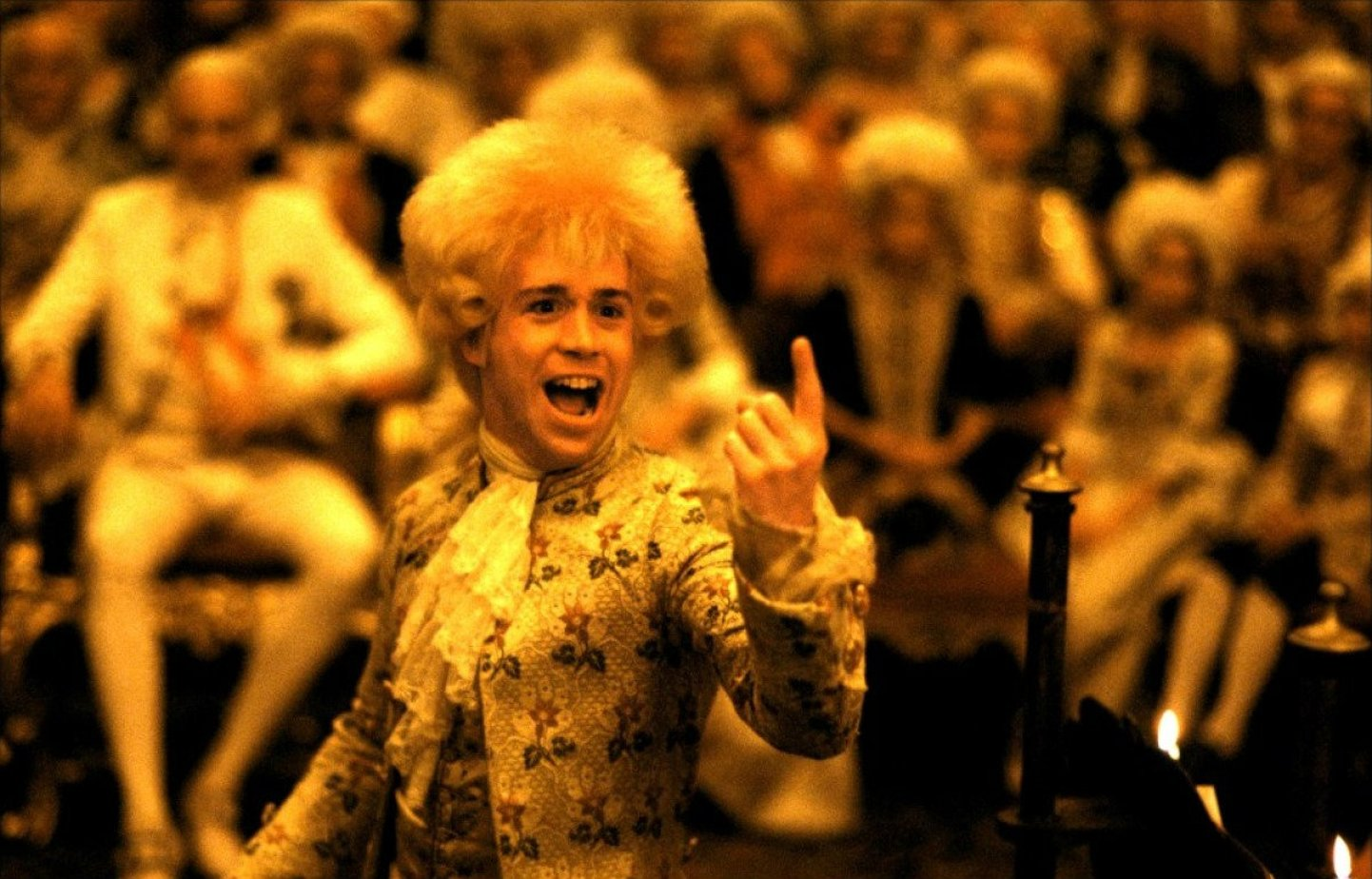highlighting the characters in the movie amadeus
