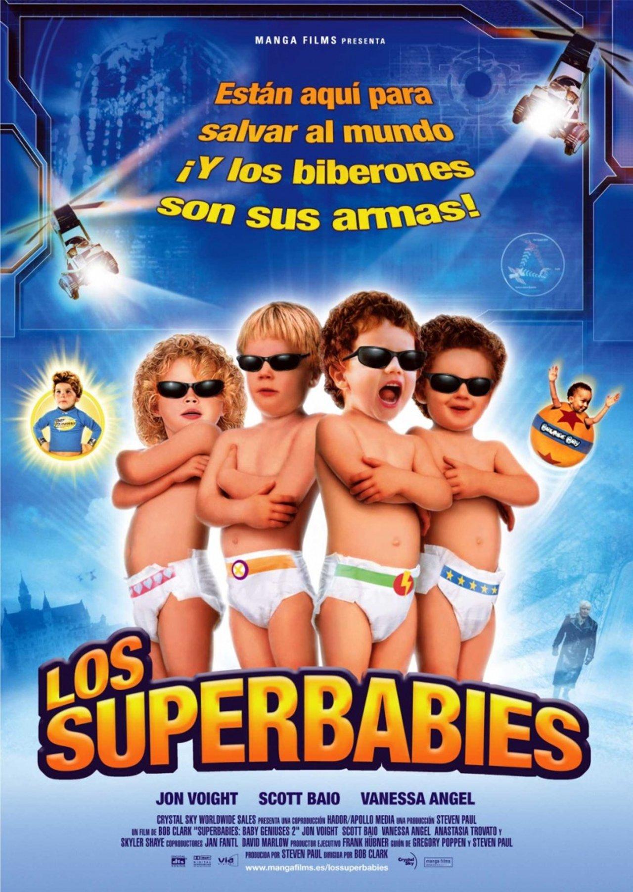 2019 год - Супердетки: Вундеркинды 2 (Superbabies: Baby Geniuses 2, 2004) - МИР Кино - foboxs.com