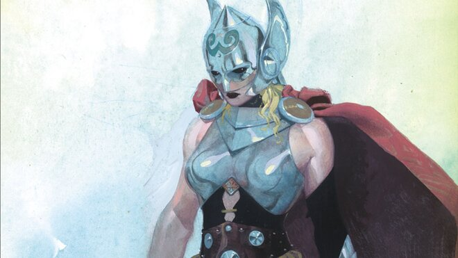 Тор из комиксов Marvel стал женщиной