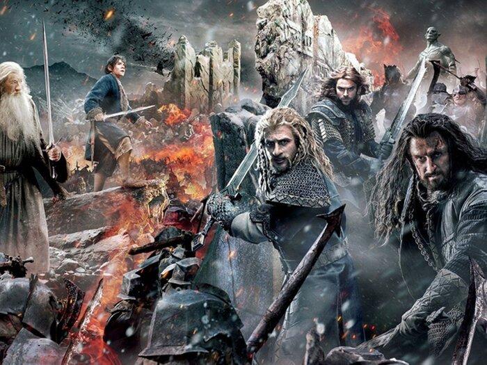 Российская касса: «Хоббит: Битва пяти воинств» остаётся на первом месте, а на втором месте - «Феи»