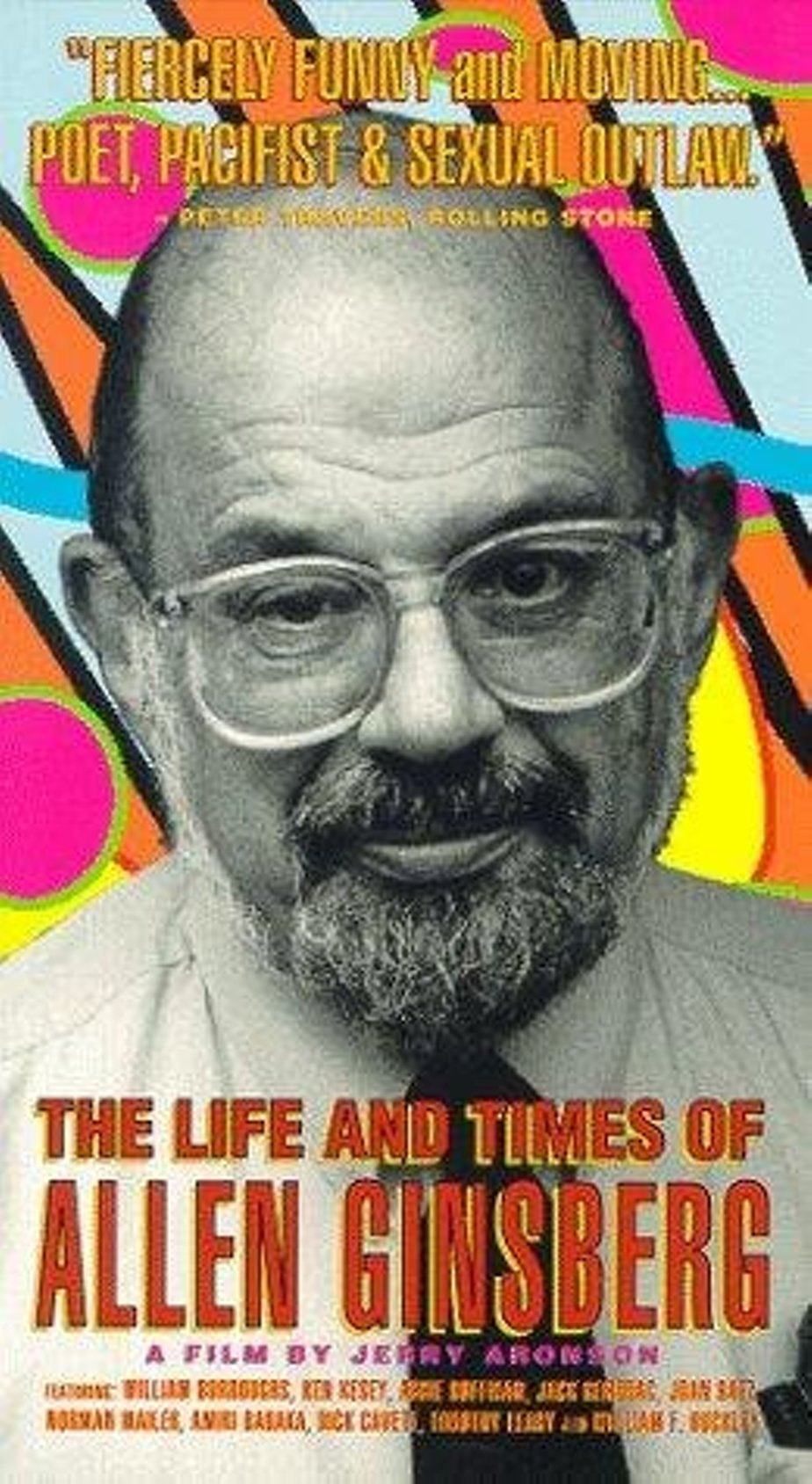 the life and career of allen ginsburg