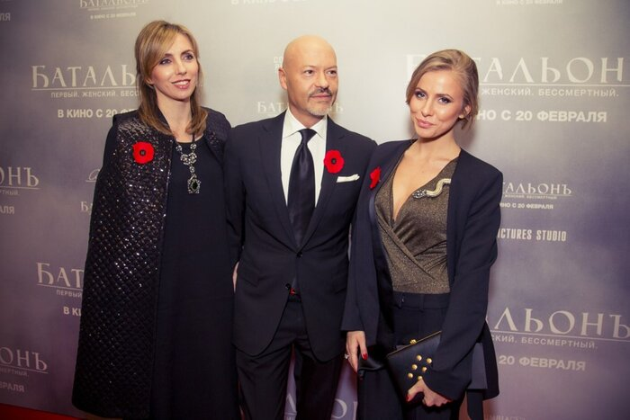 Галерея: торжественная премьера «Батальона» состоялась в Москве