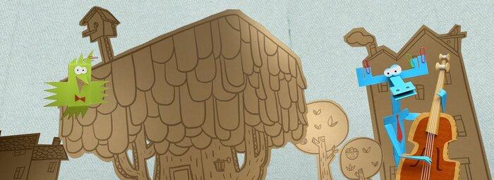 Бумажки - смотреть онлайн мультфильм бесплатно все