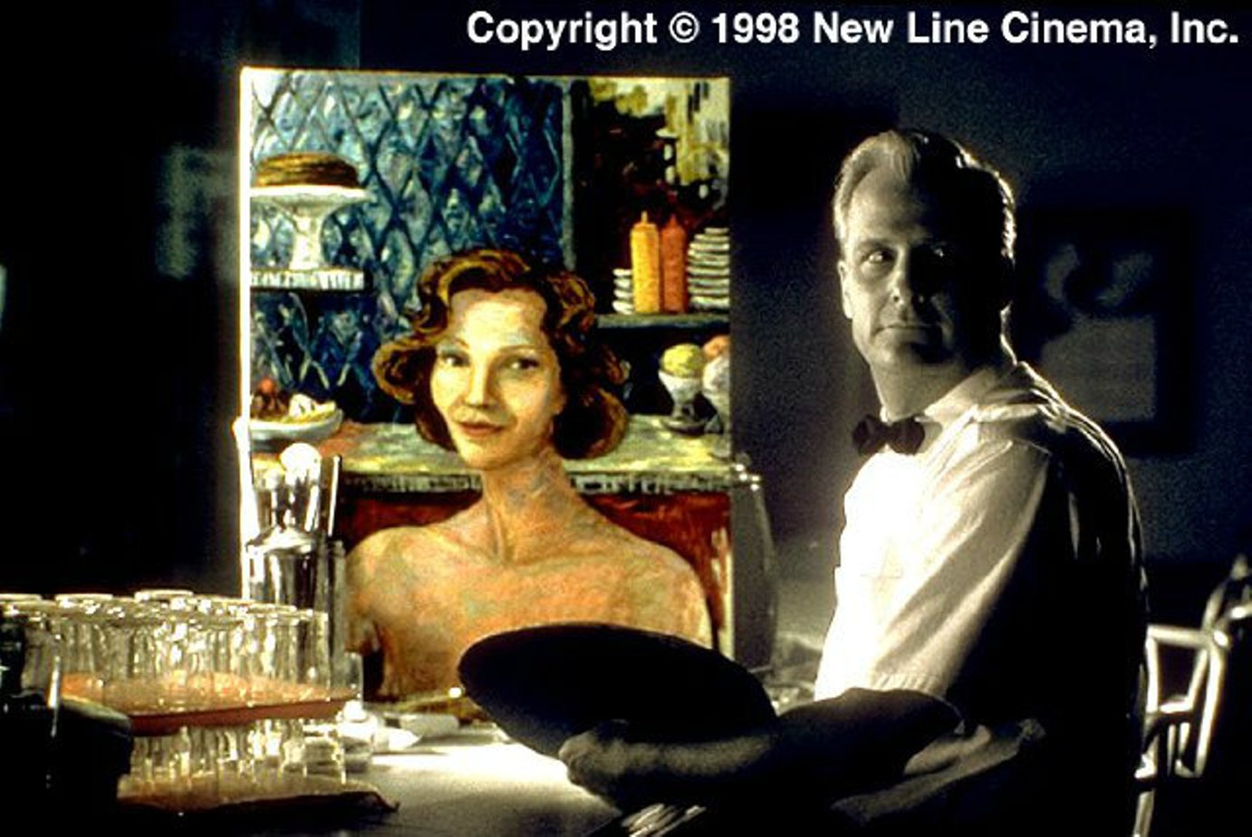 pleasantville film analysis The film 'pleasantville' is about two modern teenagers, david and his sister jennifer, somehow being transported into the television, ending up in pleasantville – a 1950s black and white sitcoms.