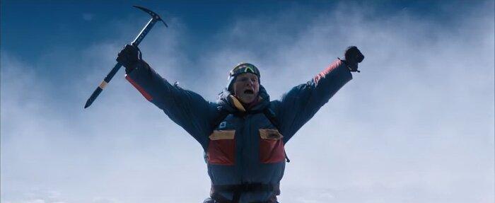 Дублированный ролик о съёмках фильма «Эверест»