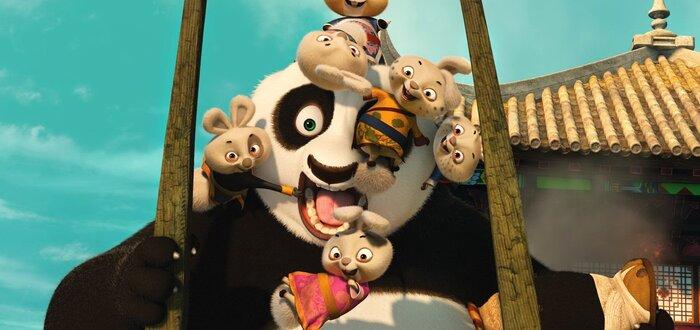 Первые кадры из мультфильма «Кунг-Фу Панда 3»
