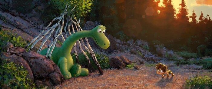 Первый трейлер мультфильма студии «Пиксар» «Хороший динозавр»