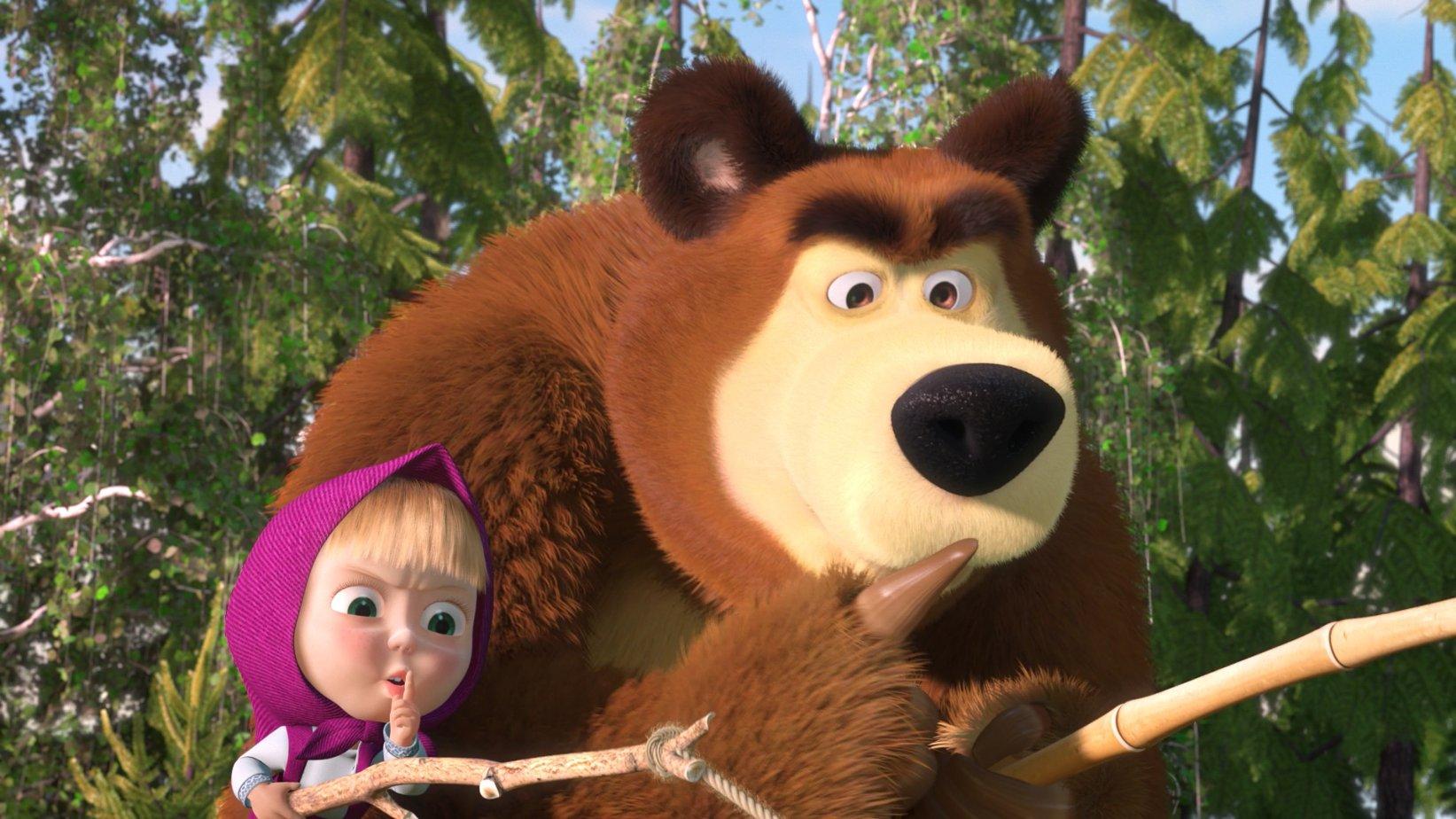 запутана маша и медведь