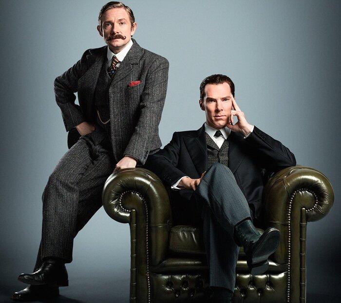 В специальном эпизоде сериала «Шерлок» появятся привидения