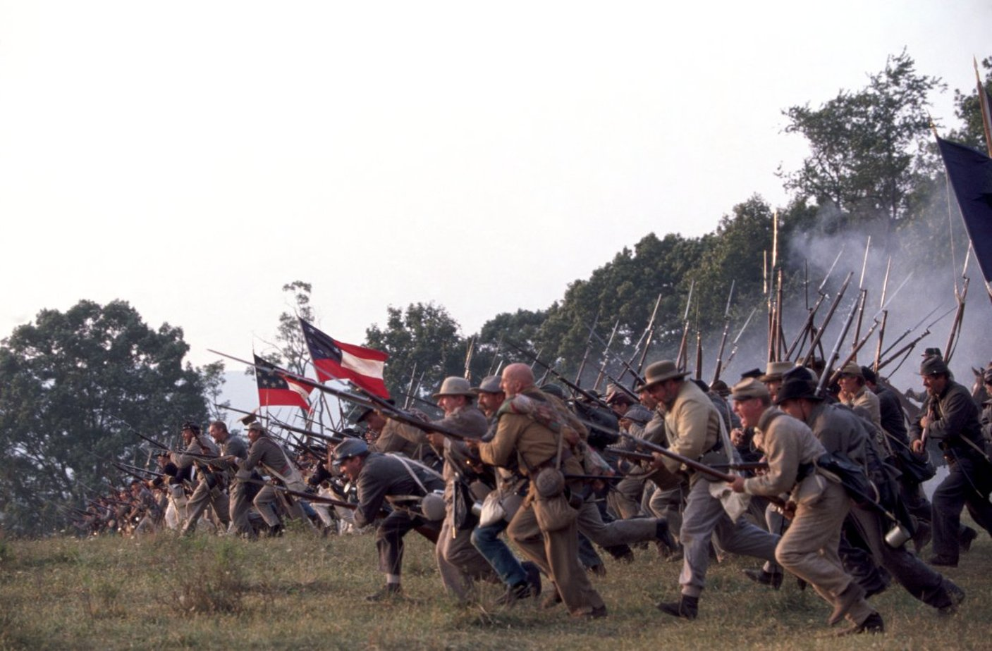 """a comparison of gods and generals """"if you have any interest in our history at all, """"gods and generals"""" is a stirring spectacular epic recreation that vibrates with such vivid emotional and atmospheric detail you'll feel like you're actually there."""