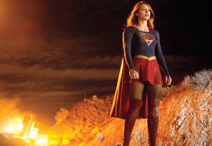 Сериал «Супергёрл» обзавёлся новым видео