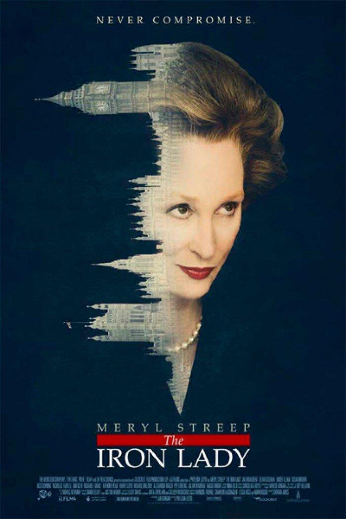Дебютный постер «Железной леди» с Мэрил Стрип