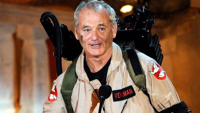 Билл Мюррей рассказал о съёмках в новых «Охотниках за привидениями»