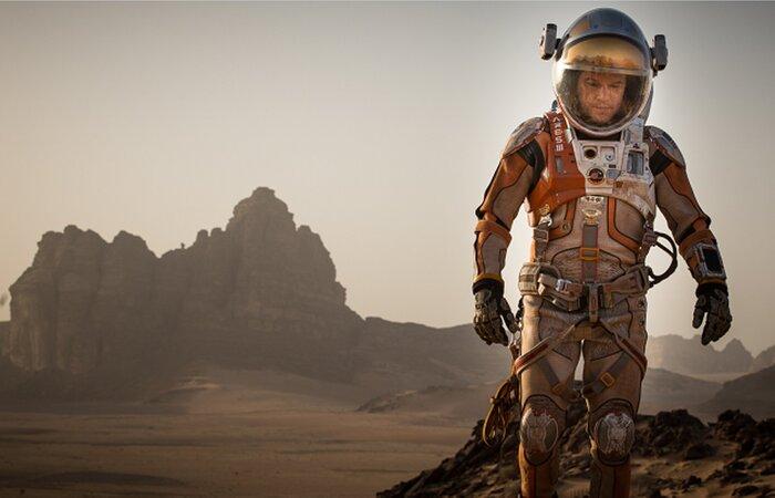 Видео со съёмок фильма Ридли Скотта «Марсианин»