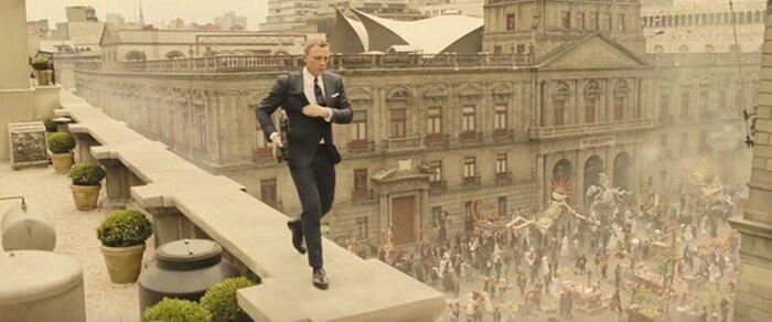 «007: Спектр»: Режиссёр Сэм Мендес рассказал, как снимались трюки без спецэффектов