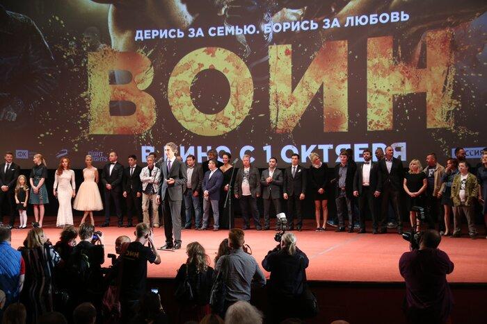 В кинотеатре «Каро 11 Октябрь» прошла премьера экшн-драмы «Воин»