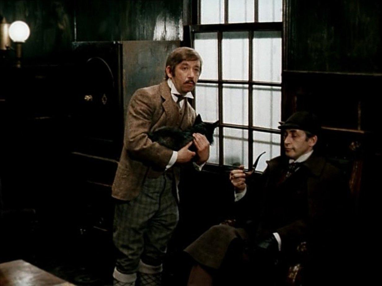 Знакомство доктор ватсон читать холмс шерлок