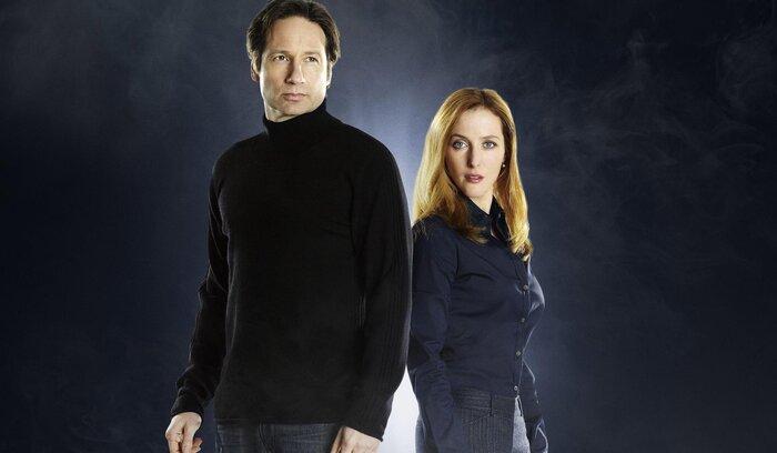 Дэвид Духовны и Джиллиан Андерсон в новом сезоне «Секретных материалов»