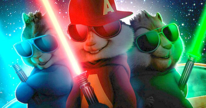 Сиквел «Элвин и бурундуки 4» сразится с блокбастером «Звёздные войны: Пробуждение силы»