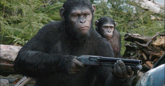 Появилось первое фото со съёмок «Войны планеты обезьян»