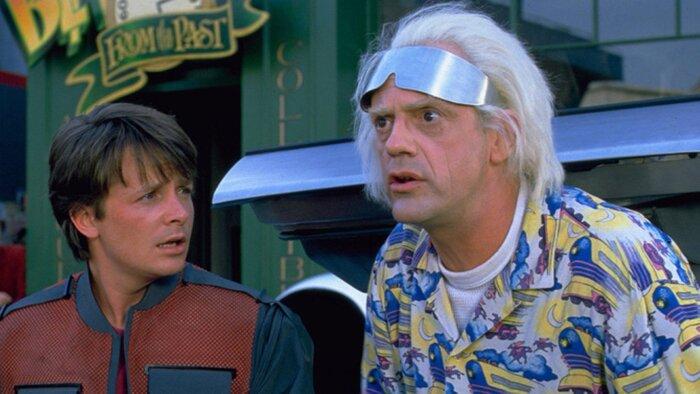 За один день кинотрилогия «Назад в будущее» привлекла в кинотеатры миллионы зрителей