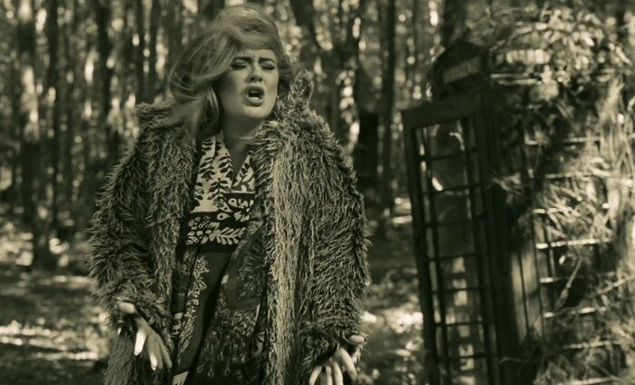 Новый клип певицы Адель стал первым музыкальным видео в формате IMAX