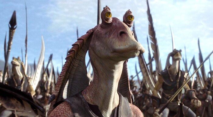 Опубликован трейлер новых «Звёздных войн» с участием Джа Джа Бинкса