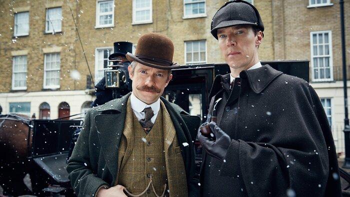 Открылись новые подробности новогоднего эпизода сериала «Шерлок»