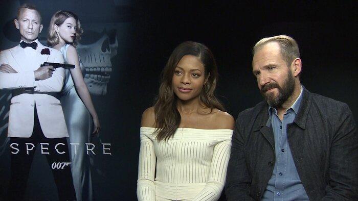 Рэйф Файнс и Наоми Харрис рассказали о работе над фильмом «007: Спектр»