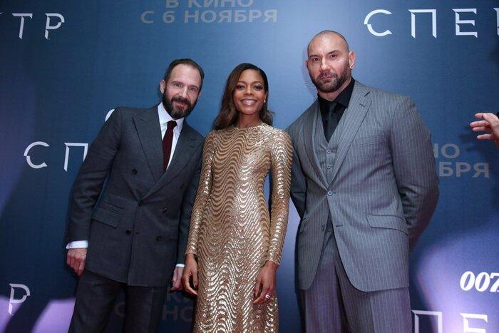 В Москве состоялась премьера фильма «007: Спектр»