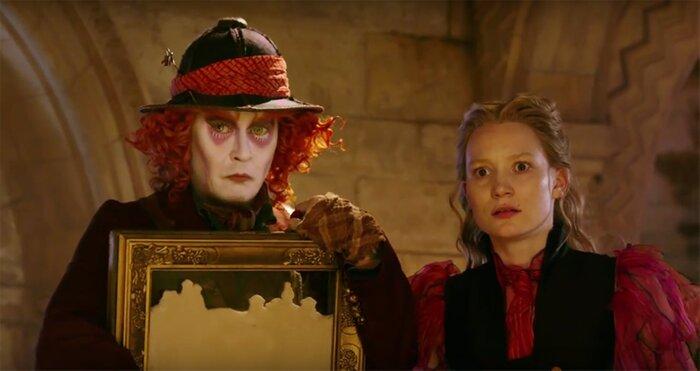 «Алиса в Зазеркалье» с Джонни Деппом: первый трейлер