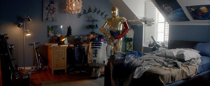 Роботы из новых «Звёздных войн» попали в рекламный ролик батареек