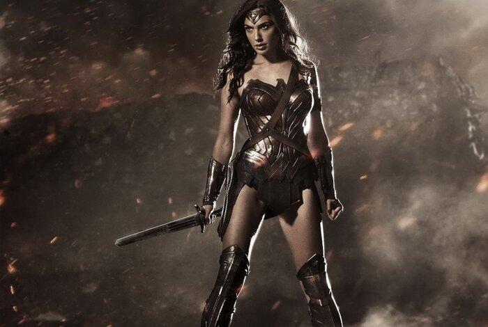 Опубликовано новое фото со съёмок комикс-боевика «Чудо-женщина»