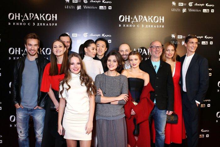 В Москве состоялась премьера фильма «Он – дракон». Фотогалерея