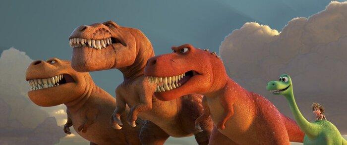 Предварительная касса уикенда: «Хороший динозавр» стал новым лидером