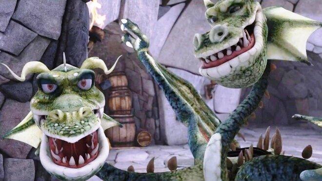 Мультфильм Доверчивый дракон (1988) смотреть - Ivi ru