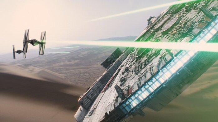 «Звёздные войны: Пробуждение силы» посмотрят в космосе