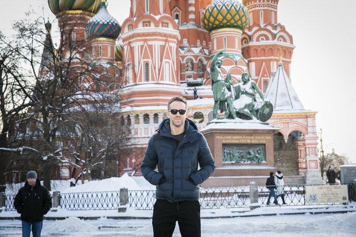 Райан Рейнольдс представит в Москве фильм «Дэдпул»