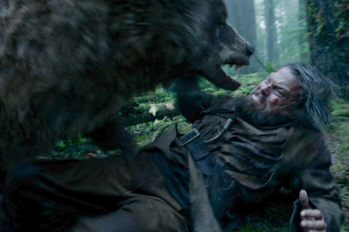 Как снималась сложнейшая сцена «Выжившего»