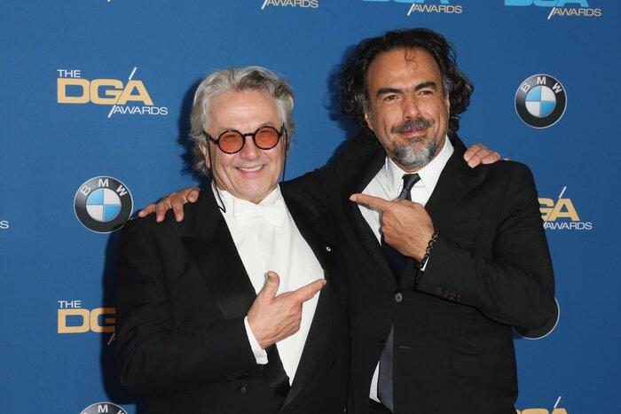 Фото дня: Голливудские режиссёры наградили лучшие фильмы