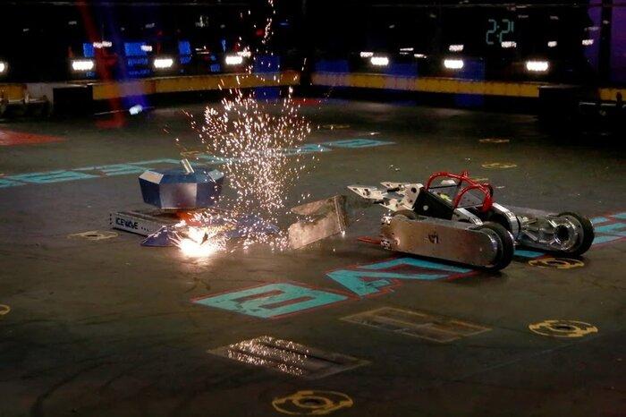 Битва боевых роботов – на арене «Олимпийского»